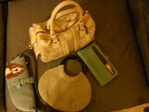 Coach,clutch, purses, handbags, Coldwater Creek, Basset Rescue